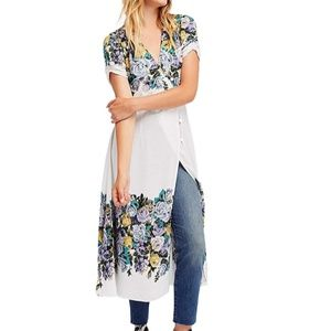 FREE PEOPLE  Jaimie Midi Wrap Dress XS NWT